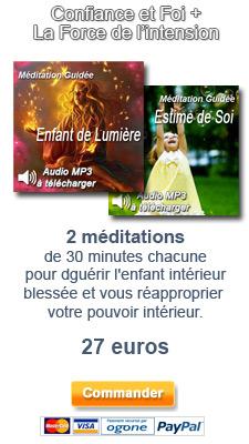 promotion éveil à soi 2 audios L'enfant de lumière et estime de soi