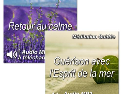 Promotion Retour au calme et Guérison avec l'Esprit de la mer